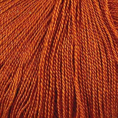 Juniper Moon Findley Lace Weight Yarn Col 20 Tiger Lily by Juniper Moon Farm