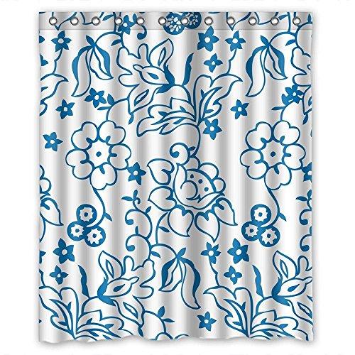 Cute Cartoon Dinosaurier Muster Print Dusche Vorhänge Polyester-167,6x 182,9cm-Badezimmer Vorhang mit Haken