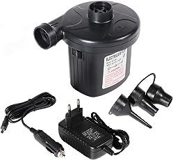 Woocika Pompa pneumatica elettrica portatile, Pompa di Aria Elettrica Gonfiabile Pompe Elettriche