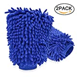 Car Cleaning Wash Mitt, Microfiber Glove Mitt,Nakeey...