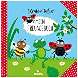 Krabbelkäfer Freundebuch | Meine Kindergartenfreunde | Für Mädchen und Jungen ab 3 Jahren