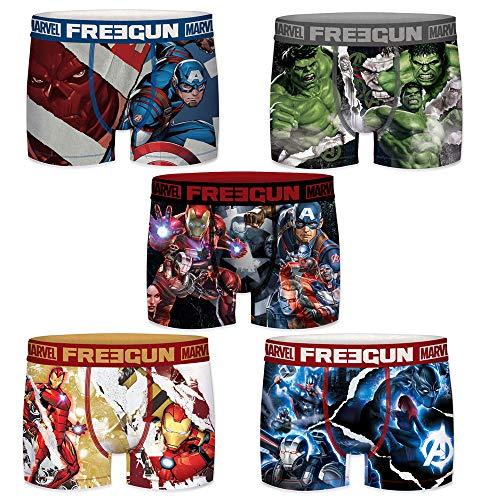 FREEGUN Herren Boxershorts Marvel Avengers Gr. M, Marvel Avengers Endgame