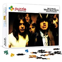 OKJK 300 puzzles for kids and adults Rock Band AC Star theme puzzle Jigsaw family puzzle game with music star poster DIY…