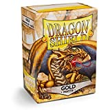 Dragon Shield - Matte Gold - 100 bustine protettive