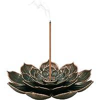 SLKIJDHFB Porta Incenso Loto Incenso Bruciatore Lotus Censer 6 Fori Bruciatore Incenso Cono Bastone Incenso Bruciatore