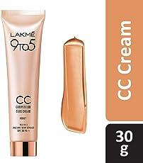Lakme 9 to 5 Complexion Care CC Cream, Honey, 30g