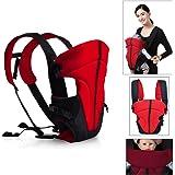 HJ® Baby-und Kindertrage Comfort Babytrage Bauch- und Rücken- 3.6-9.1KG 3-18 Monate