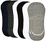 #9: Zofey (OZOY Brand Printed) Premium Quality Cotton Loafer Athletic Socks - Pack of 6 (Assorted Colors)