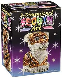 Sequin Art 3D Tiger