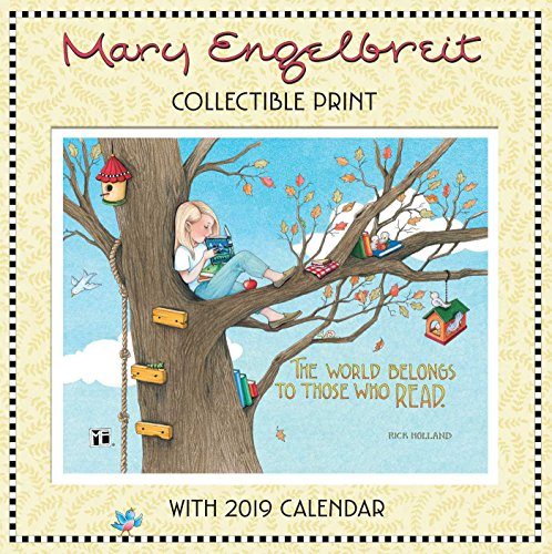 Mary Engelbreit 2019 Collectible Print with Wall Calendar