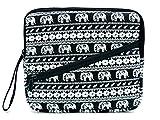 Case Wonder Bohemia. Plástico Viaje conservación llevar bolsillos móvil para Wacom CTL de 490dw de S/CTL de 490db de S/CTH de 490ak de S/cth490pk/CTH de 490ab S–Tableta gráfica negro