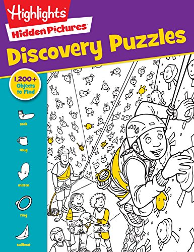 Highlights Hidden Pictures® Favorite Discovery Puzzles (Favorite Hidden Pictures®) (Hidden Picture Puzzles)