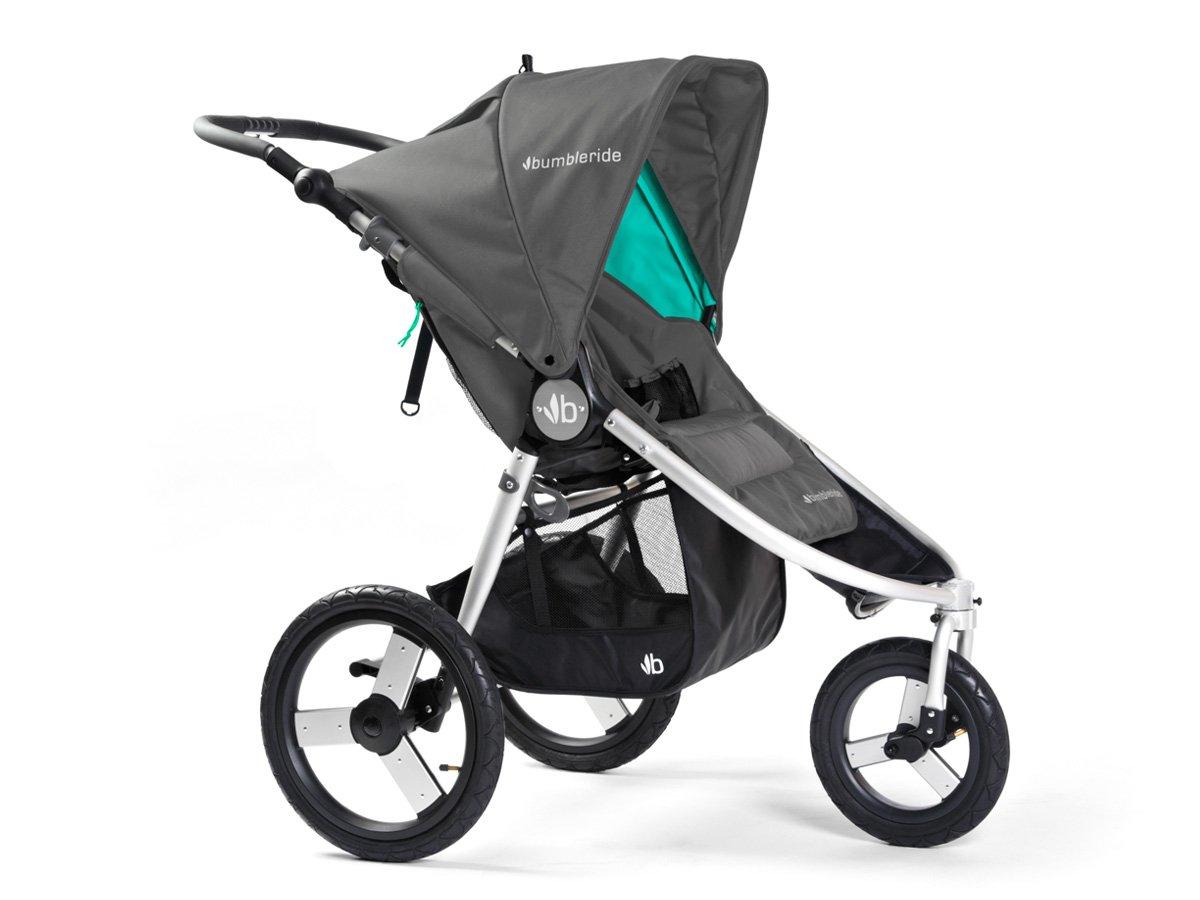 Bumbleride Speed All terrain Jogging Stroller - Dawn Grey Mint Bumbleride  1