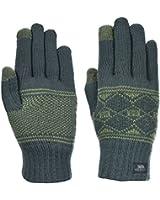 Trespass Mens Howard Knitted Winter Gloves