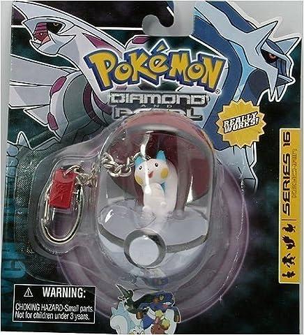 Pokemon Diamond and Pearl Poke Ball Keychain Series 16 - Pachirisu