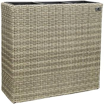 pflanzk bel trennelement fiberglas elemento anthrazit. Black Bedroom Furniture Sets. Home Design Ideas