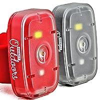Pouvez-vous vous permettre de ne pas être vu?Ces lumières super-lumineuses et compactes fournissent la quantité parfaite de visibilité pour toute situation. Modes clignotants rouges et blancs permettent automobilistes, cyclistes de vous voir ou vo...
