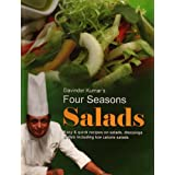 Four Seasons SALADS easy & quick recipes on salads, dressings