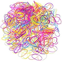 MyBoxWorld geekbox® Colorido Bandas Elásticas Bandas de Pelo de Goma Gomas para el Pelo, 2200Piezas