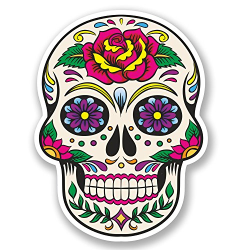 2-x-sugar-skull-vinyl-sticker-decal-mexican-spanish-mexico-day-of-the-dead-5670