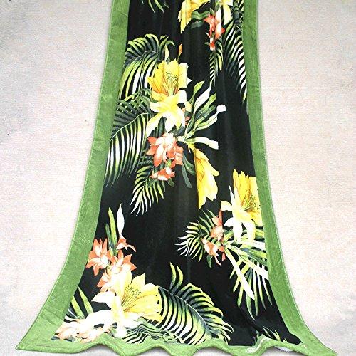 SunJin Heutiges Angebot!die Vereinigten Staaten Außenhandel & meine Baumwolle Handtuch, Badetuch sofa Modell, Meer Palm 103* 170~650 g, 170 x 85 cm.