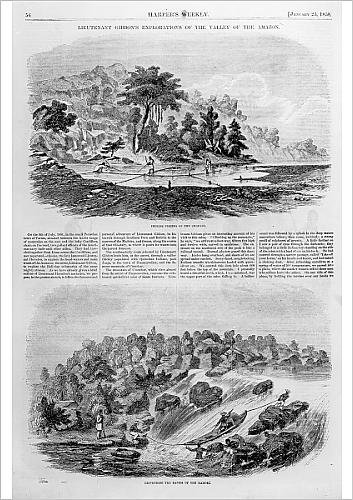 fine-art-print-of-lieutenant-gibbon-s-explorations-of-the-valley-of-the-amazon-from