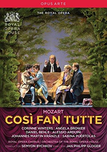 Mozart: Cosi Fan Tutte (Royal Opera House, 2016) [DVD] (Fan-tanz Koreanische)