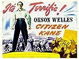 FILM CITIZEN KANE ORSON WELLES DRAMA ICON MYSTERY USA ART PRINT POSTER BB8251