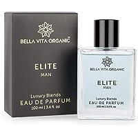 Bella Vita Organic Elite Perfume For Men Long Lasting Sweet Woody Scent, 100 ml