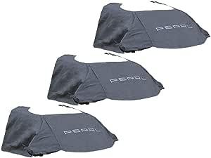 Pearl Autoabdeckung 3er Set Anti Eis Kfz Scheibenabdeckung Magnet Fixierung 270 X 94 Cm Windschutzscheibenschutz Auto