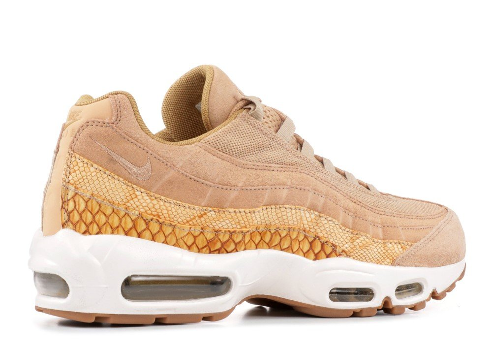 61d1bqLwJlL - Nike Men's Air Max 95 Premium Se Running Shoes