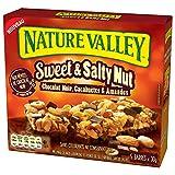 Nature Valley Sweet Salty Chocolat Noir 5 x 30 g