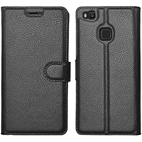 IVSO Blackberry DTEK60 Funda Case - Slim Armor Cover Funda Protectora para Blackberry DTEK60 Smartphone(Slim PU Series - Negro)