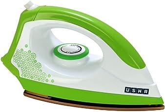 Usha 3302 1100-Watt Dry Iron (Gold and Electric Lime)