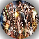 Fondant Tortenaufleger Tortenbild Geburtstag Star Wars T19
