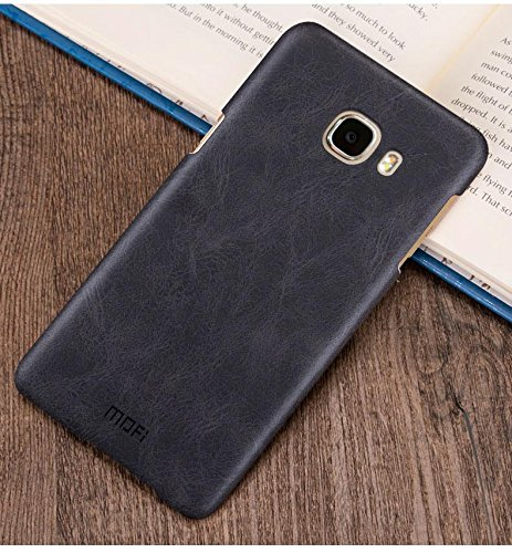 Samsung galaxy S7 PU Leather Mofi Original Black Color Luxury Slim Light weight Back case cover