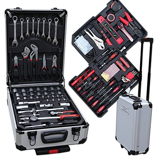 Werkzeugkoffer 207 tlg im Alukoffer Combination Wrench