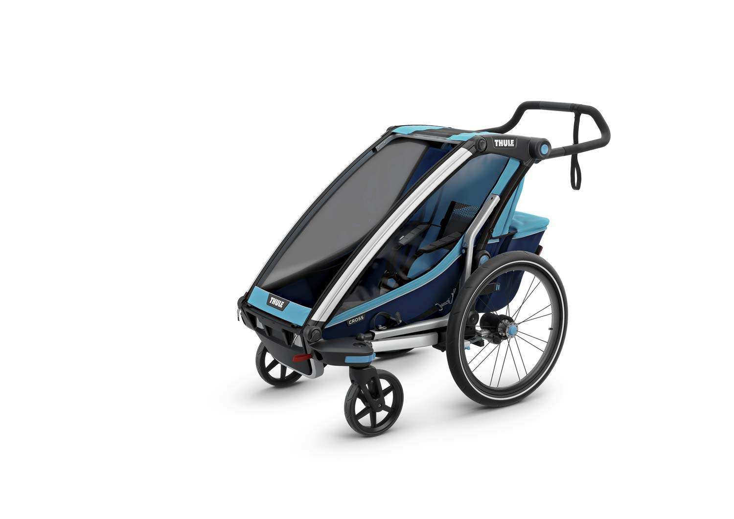 Thule Unisex Baby 1Chariot Cross 1, Chariot Cross 1, blue, One Size