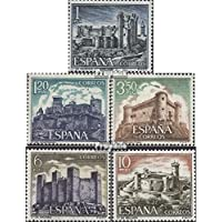 España 1866-1870 (completa.edición.) 1970 castillos (sellos para los coleccionistas)