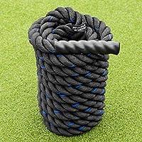 METIS Cuerda de Batalla │Battle Rope de Fitness │ Longitud 9m/12m/15m Grosor 38/50mm (12m, 38mm)