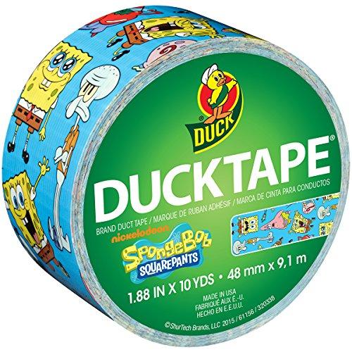 licensed-duck-tape-188x10yd-spongebob