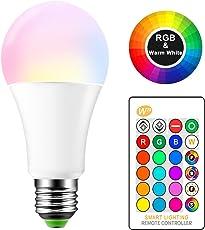 ONEVER 15W RGBW LED E27 Cambiare colore Atmosfera di illuminazione del partito della lampada LED della barra KTV luci decorative Flash Strobe Fade RGB + Warm White