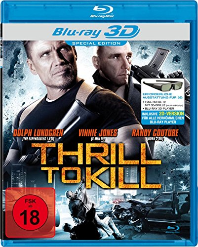 Thrill to Kill [3D Blu-ray]