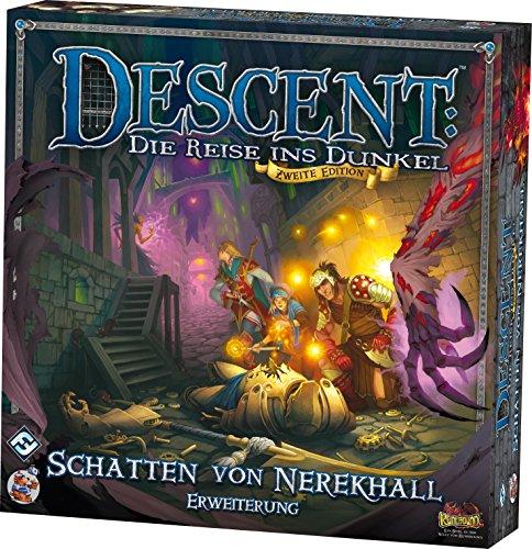Heidelberger Spieleverlag HEI0617 - Descent 2°. edizione - Espansione: L'Ombra di Nerekhall [lingua tedesca]