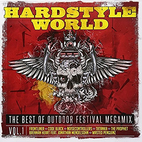 Preisvergleich Produktbild Hardstyle World - The Best Of Outdoor Festival Megamix Vol. 1