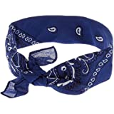 Bandana Hairstyle For Men's & Woman's 4Color (Navy)