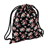 Bag Base - Rucksackbeutel mit Motiv / Faded Floral, Einheitsgröße