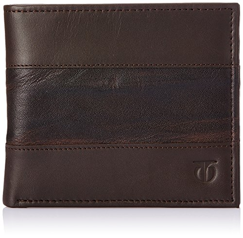 Titan Leisure Dark Brown Men's Wallet (TW106LM1DB)  available at amazon for Rs.1109