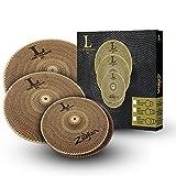 Zildjian Low Volume 468 Box Set - 14'' HH, 16'' Crash, 18'' Ride