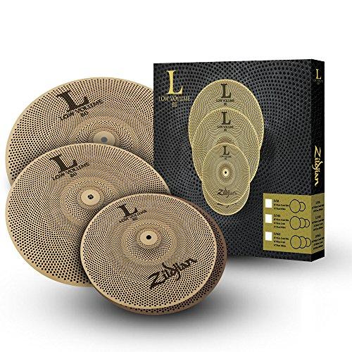 ZILDJIAN LV468 Becken Low Volume Serie 468 Box Set bestehend aus 35,5 cm (14 Zoll) Hats, 40,6 cm (16 Zoll) Crash, 45,7 cm (18 Zoll) Ride